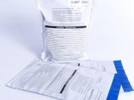Envelope Identificação Analise de Combustível - Amostra Testemunha